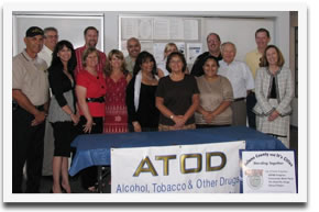 Dixon Family Services is a member of the ATOD (Alcohol Tobacco and Other Drugs) City Team