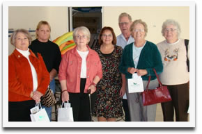 The Advocates for Dixon Seniors had a tour and luncheon at Quail Creek Senior Housing in Fairfield